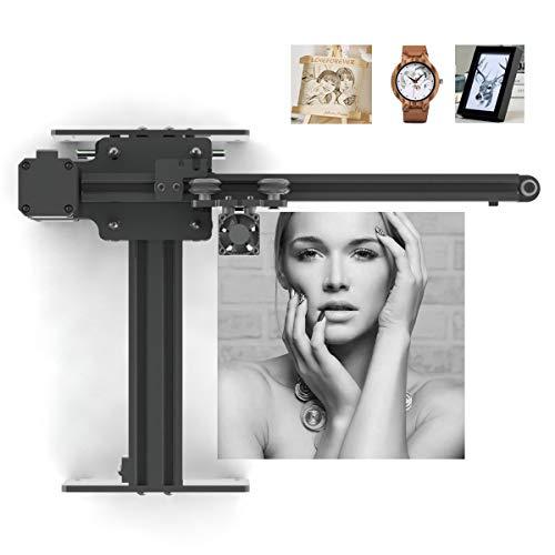 Oakeroo Master 2 3500 mW Laser Engraving Machine Engraver Desktop DIY Art Craft Logo Mark Printer Mini Carver Wood Engraving Wireless APP Control (Module 0.5 W)