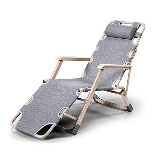 Simple Pliant Inclinable en Plein Air Camping Canapé Portable Lit Léger Jardin Terrasse Meubles Intérieur Bureau Réglable Multifonction Chaise Longue