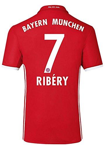 Trikot Adidas FC Bayern München 2016-2017 Home (Ribery 7, 140)