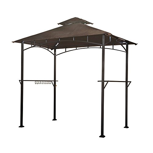 Canopy Grill Gazebo With 4Pcs Led Gazebo Grill