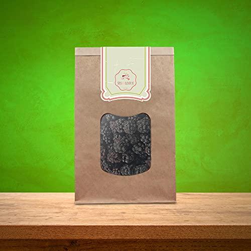 süssundclever.de® Bio Brombeeren   gefriergetrocknet   300 g   ganze Beeren   plastikfrei und ökologisch-nachhaltig abgepackt