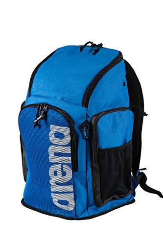 arena Backpack 2.2 Großer Sportlicher Rucksack, Reise-, Sport-, Schwimm- und Freizeitrucksack, Strandrucksack mit Fach für Nasse Kleidung und Verstärktem Boden, 45 Liter