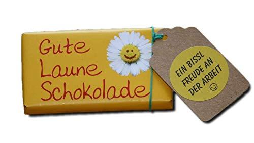 Kollegen Dankeschön | kleine Aufmerksamkeit Kollegen | Danke Geschenk Büro Firma | Spass an der Arbeit Geschenke | Kleine Überraschung Kollegin | Gute Laune Schokolade
