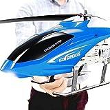 ZJDM 3.5CH Channel Resistance Control Remoto Avión Avión Juguete LED Heli RC Helicóptero Estable Fácil Aprendizaje Buen Funcionamiento Helicóptero para Regalos Adolescentes Niños Niñas Adultos