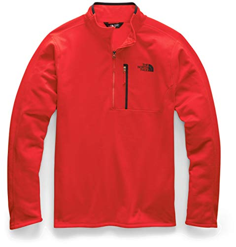 The North Face Men's Canyonlands Half Zip, Fiery Red, L