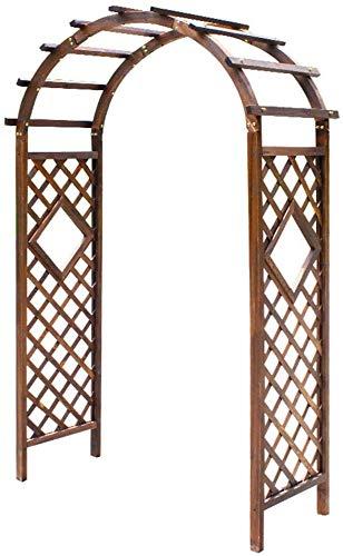 Arco da Giardino Pergolati Sostegno da Giardino Gazebo Padiglione ad arco da giardino con vari prati resistenti alle intemperie per piante rampicanti Decorazione per feste nuziali Patio nel cortile GC