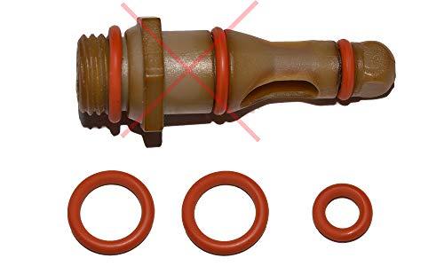 SW-K - Juego de 3 juntas de mantenimiento para válvula de asistencia Saeco, compatible con Miele Bosch Gaggia Tchibo Unold Solis Spidem Satrap TurMix König Rotel Set-6