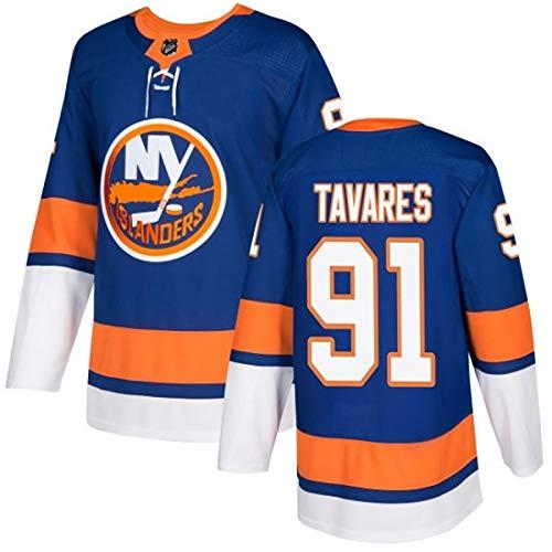 DSASAD Herren Eishockey-Jersey, 13 Barkal 22 Bossy Jersey, 100% Polyesterfaser, weiche Textur, kann wiederholt gewaschen Werden blue91-XXXL