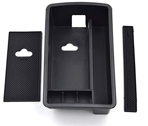 XIOFYA Organizador Coche Accesorios Interior for Audi A3 Caja de Almacenamiento Consola...