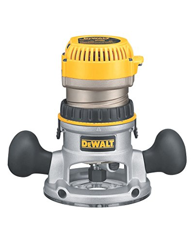Great Features Of DEWALT Router, Fixed Base, Variable Speed, 2-1/4 HP (DW618) (Renewed)…