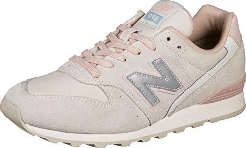 New Balance WL996-B Sneaker Damen Altrosa/weiß, 7 US - 37.5 EU - 5 UK