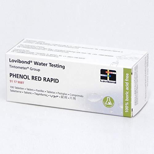 Lovibond Phenol Red Rapid Dissolve 100 Tablets