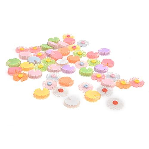 Accesorios para horquillas, accesorios para margaritas Colores brillantes para decorar Tarjetas para el cabello para decorar ropa