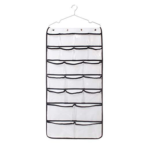 YWLINK Kleiderschrank Aufbewahrungstasche Platz Sparen UnterwäSche Socken Auffangbeutel 42 Tasche Doppelseitig HäNgend Closet Organizer Aufbewahrungskleidung
