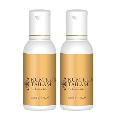 Kum Kumadi Tailam 50 ml Öl für Verunstaltungen & Narben (Pack von 2)