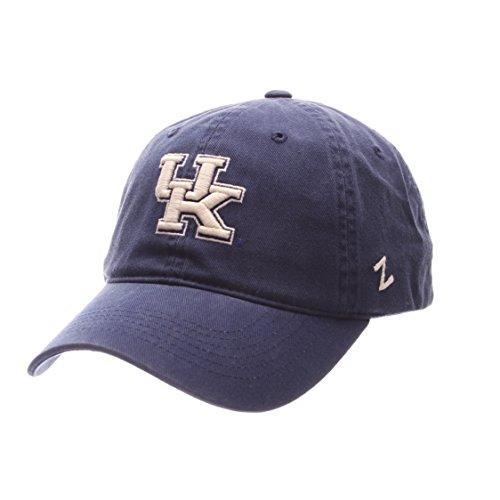 NCAA Zephyr Kentucky Wildcats Mens Scholarship Relaxed Hat, Adjustable, Team Color