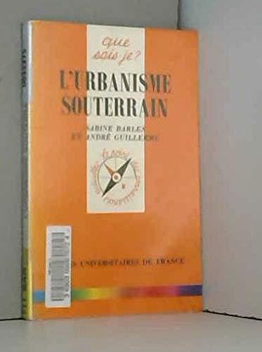 Lurbanisme Souterrain