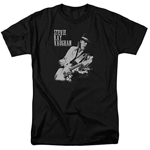 Stevie Ray Vaughan Live Alive Unisex Adult T Shirt for Men And Women Camicie e T-Shirt(Small)
