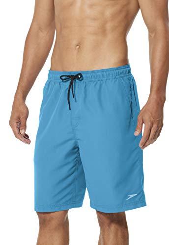 Speedo, Pantaloncini da Uomo Comfort Liner Volley 20', Uomo, Bermuda, 7784141, profondità dell'Oceano, M