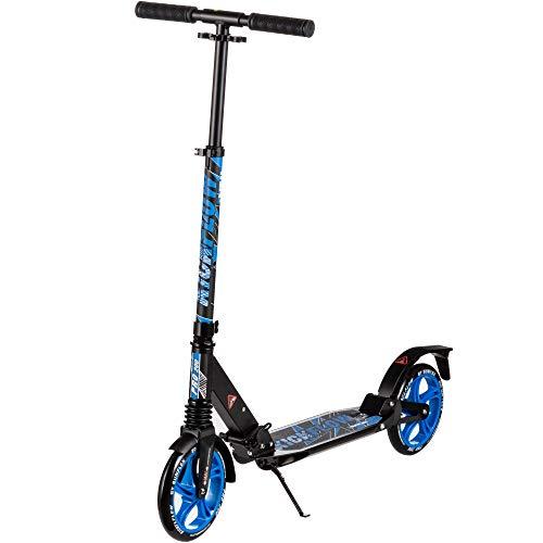 sunflex Scooter Kickflow RIDE 200, klabbarer Roller für Kinder und Erwachsene