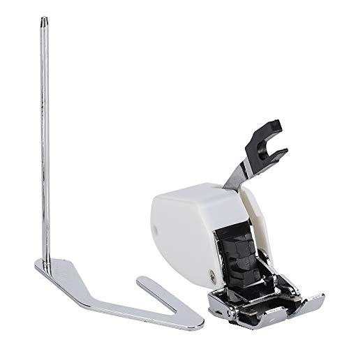 Máquina de coser multifuncional para el hogar, cortador lateral, prensatelas Overlock para...