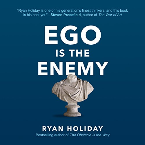 Ego Is the Enemy audiobook cover art