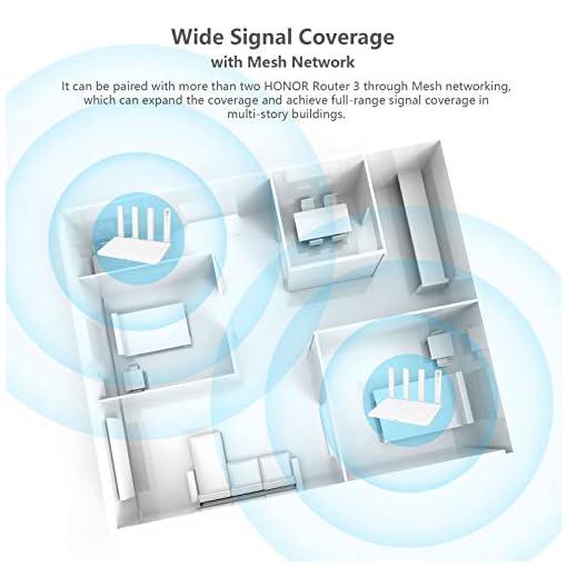 HONOR Router 3 Wi-Fi 6 Enrutador Inalámbrico de Doble Banda, Velocidad de Wi-Fi máximo 3000 Mbps (5GHz + 2.4 GHz… 3