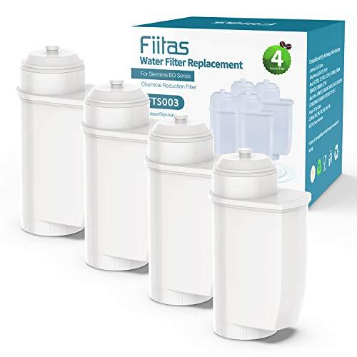 Fiitas TZ70003 Brita Intenza Wasserfilter für Siemens EQ. Serie Kaffeemaschine (4er Pack)