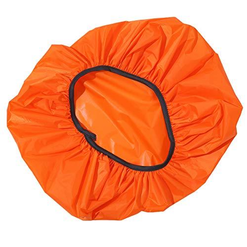 LPOQW Funda para mochila para niños, con ruedas, protección contra el polvo y la lluvia, color naranja
