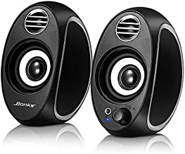 10W Computer Speakers for Desktop PC Powerful Speakers USB Powered Monitor Speakers for Desktop Computer/PC/TV/Laptop Gaming Speaker