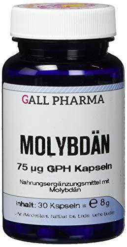 Gall Pharma Molybdän 75 mg GPH Kapseln, 30 Kapseln