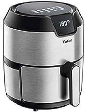 TEFAL Easy Fry Digital Interface 4.2 L Oil-less Fryer, Silver, Metal/Stainless Steel, EY401D27