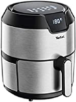 TEFAL Easy Fry Digital Interface 4.2 L Oil-less Fryer, Silver, Metal/Stainless Steel, EY401D27