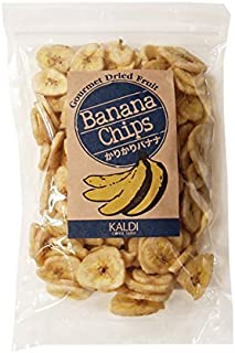 KALDI オリジナル かりかりバナナチップス 220g