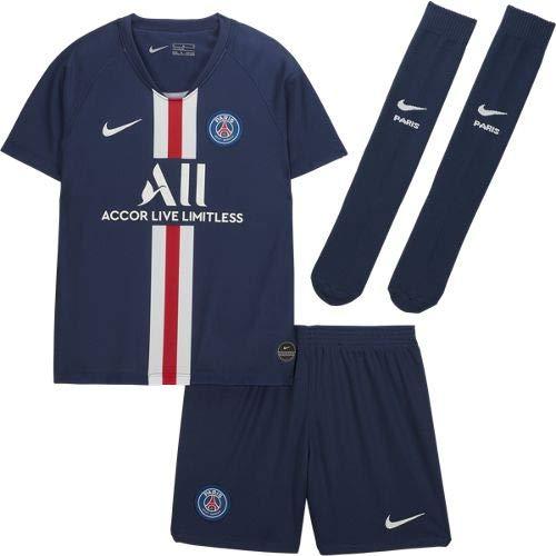 Nike Kids' PSG LK NK BRT KIT HM Shorts Mixte Enfant, Blue, FR : M (Taille Fabricant : M)