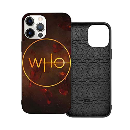 Doctor Who IP12mini-5.4 - Carcasa protectora para iPhone 12/12Pro, resistente a los golpes