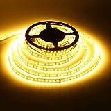 ✔Alta luminosità: alta luminosità SMD2835 striscia LED di luce è perfetta per l'illuminazione e la decorazione della casa.Cutabile ogni 3 LED lungo i segni di taglio. ✔Energia risparmio: Striscia led assicurare la luminosità allo stesso tempo, rispet...