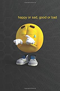 Funny Emotes - happy or sad, good or bad: Funny Notebook, Funny Emotes, Emotes, Journal, Diary, For You, Your Friends, Cow...