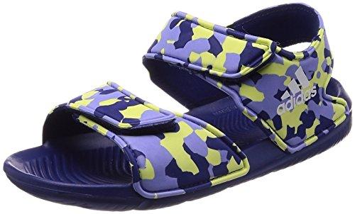 adidas Altaswim, Scarpe da Spiaggia e Piscina Bambino, Viola (Real Purple S18 Real Purple S18), 33 EU