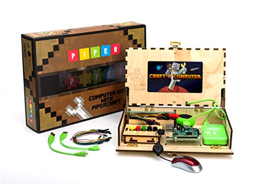 Piper Computer Kit | with Minecraft: Raspberry Pi edition | Tech Toy of the Year Finalist 2018