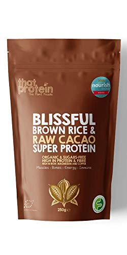 that protein Blissful Brown Rice and Raw Cacao Super Protein