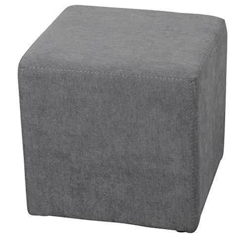 Staboos Sitzwürfel 42cm - Hochwertiger Sitzhocker Pflegeleichter Pouf Hocker - Sitzpouf mit nur 4kg - Sitzcube als perfekte Sitzgelegenheit (Coral_12)