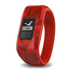 Garmin vívofit jr, Kids Fitness/Activity Tracker, 1year Battery Life, Red, Broken Lava (B01LR9OFCG) | Amazon price tracker / tracking, Amazon price history charts, Amazon price watches, Amazon price drop alerts