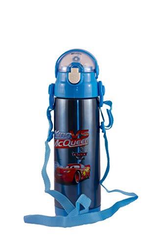 Charakter Kinder Wasser Flasche Cars 500ml Flasche für Schule, Fläschchen Flasche für Sport, Camping, Radfahren, Staying hydratisierte, Lieblingsmusik Kinder Charakter