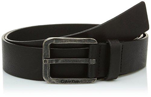 Calvin Klein Jeans LUCA BELT-Cintura Uomo, Nero, 105 (Taglia produttore:001)