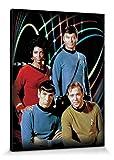 1art1 Star Trek - Kirk  Spock  Uhura   Bones Bilde
