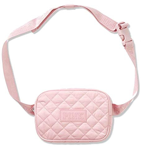 Victoria's Secret PINK Fanny Pack (Quilted Pink Chalk Rose)