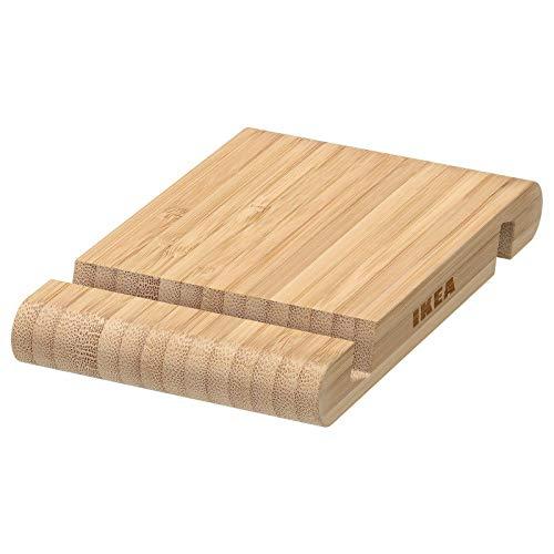 Ikea Bergènes Support de bureau en bambou pour téléphone portable iPhone et tablette