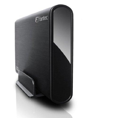 Fantec DB-ALU3 3TB externe Festplatte (8,9 cm (3,5 Zoll) USB 3.0) schwarz