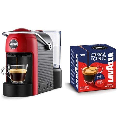 Lavazza Caffè Jolie + 64 capsules Crème et goût 1250 W, 0,6 l, blanc/rouge rouge